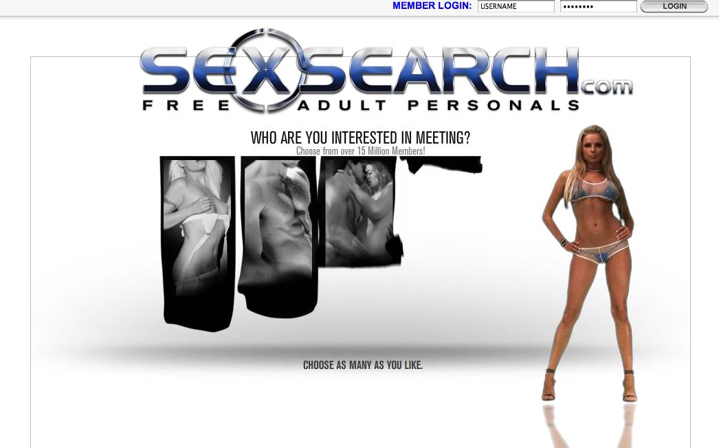 Sexsearch com login