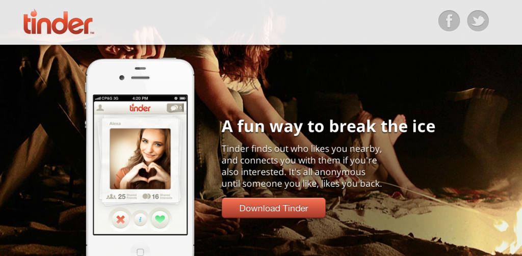 Tinder dating site online