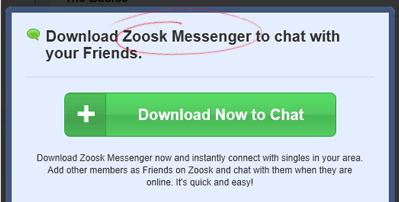 zoosk messenger app
